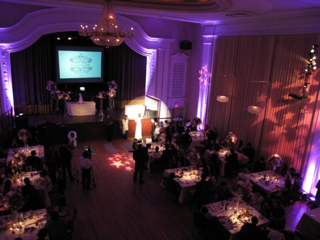 Uplighting, Followspot, Gobo, Video DJ