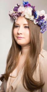 Candice- floral crown, Pires Photography