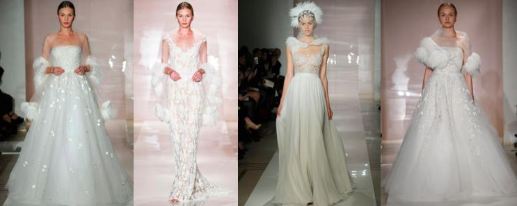 Reem Acra Bridal F/W 2014