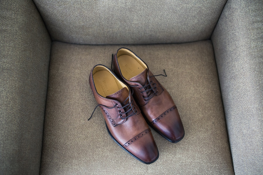 Wedding Shoes - brown