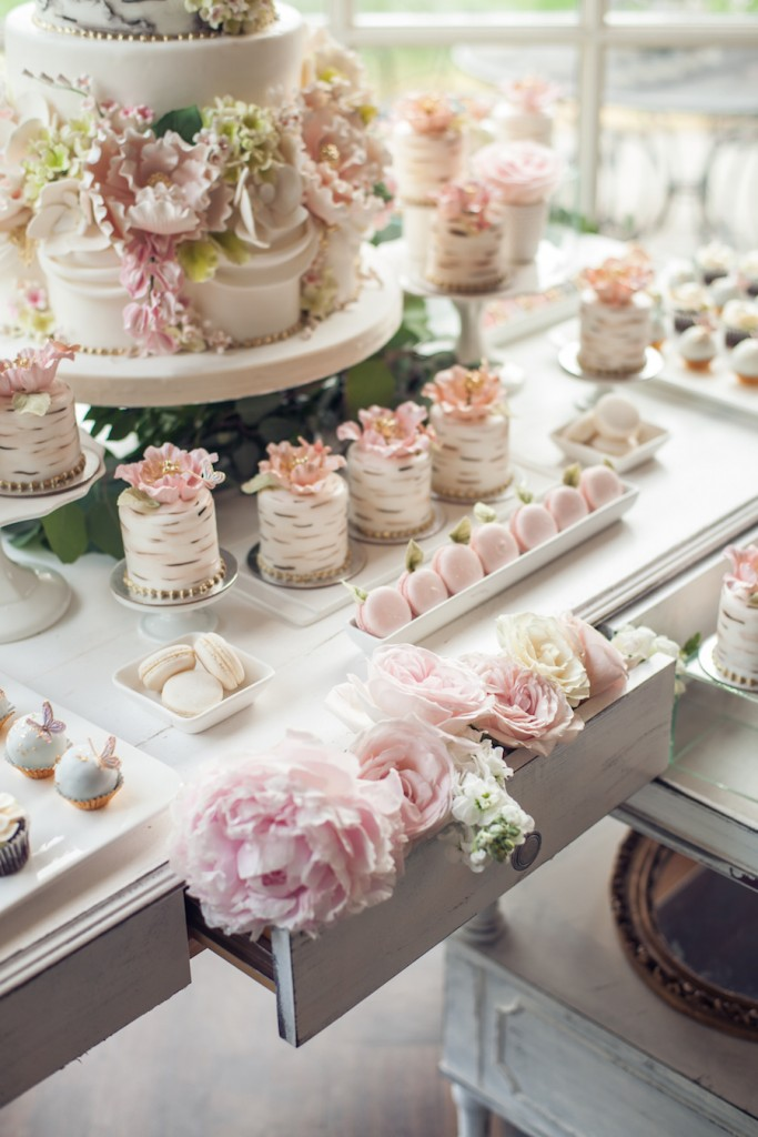 Cake and sweets table