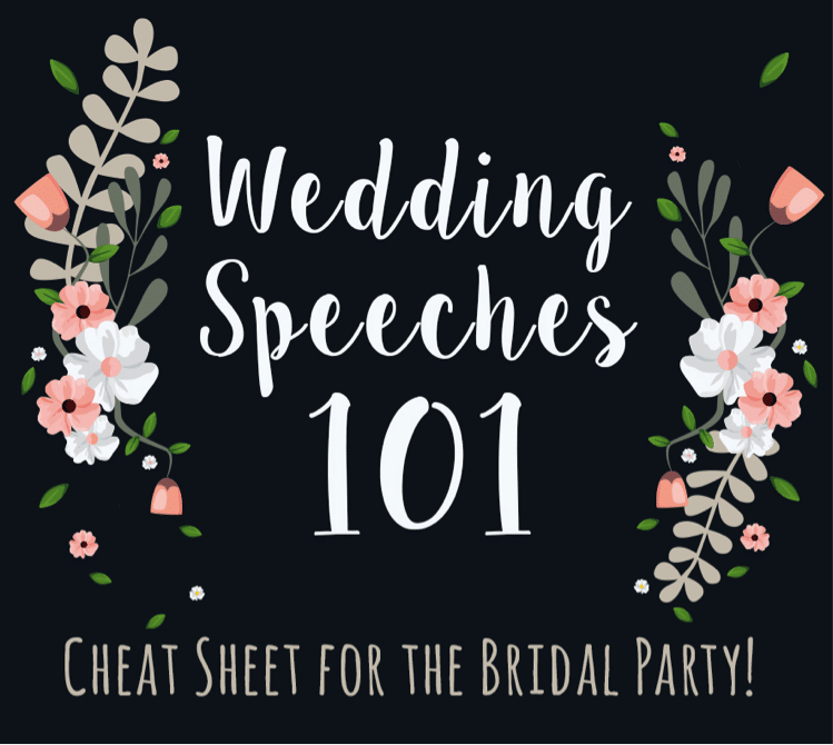 Tips For The Perfect Wedding Speech