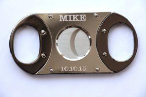 engraved cigar cutter