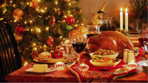 enjoy your company Christmas party food and drink responsibly. This isn't a challenge.